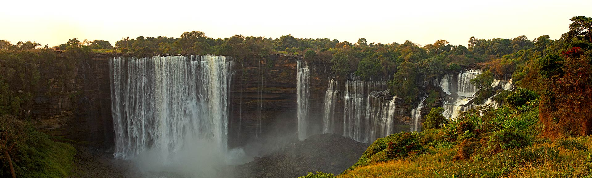 Kalandula Waterfall in Angola, Africa